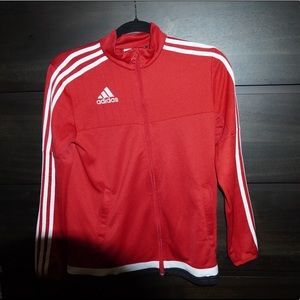 Red Adidas Track Climate Jacket